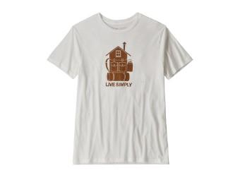 Live Simply Home Organic T-Shirt (M 's)