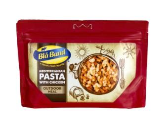 Mediterrane Pasta mit Hühnchen
