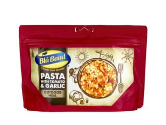 Pasta mit Tomaten und Knoblauch