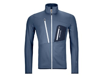 Fleece Grid Jacket Men