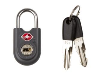 Mini Key TSA Lock Graphite