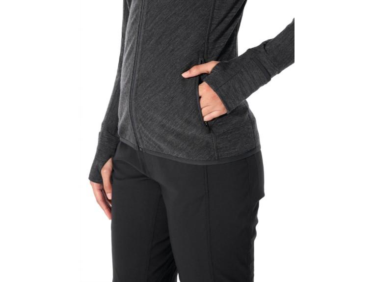 104491-002-S, Descender LS Zip Hood Women