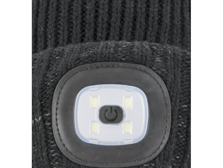 13100034-0001, WP Cold Weather LED Roll Cuff Beanie