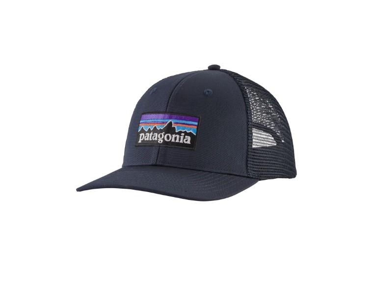 38289-NVYB-ALL, P-6 Logo Trucker Hat