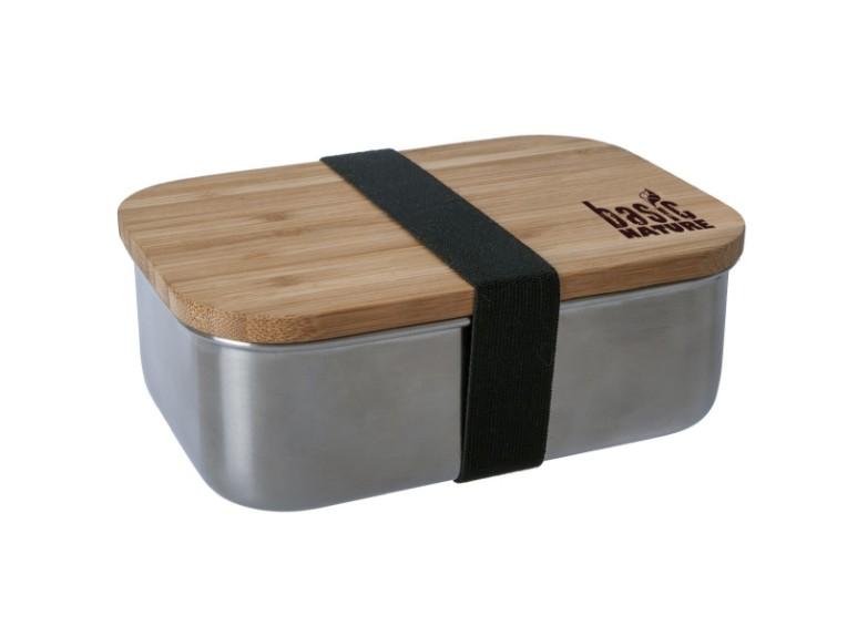 562024, BasicNature Lunchbox Bamboo