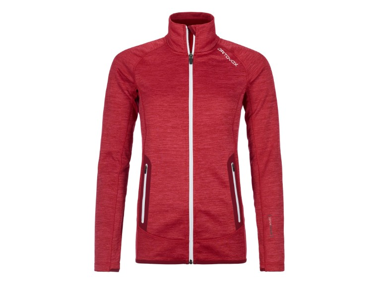 86974, Fleece Space Dyed Jacket Women
