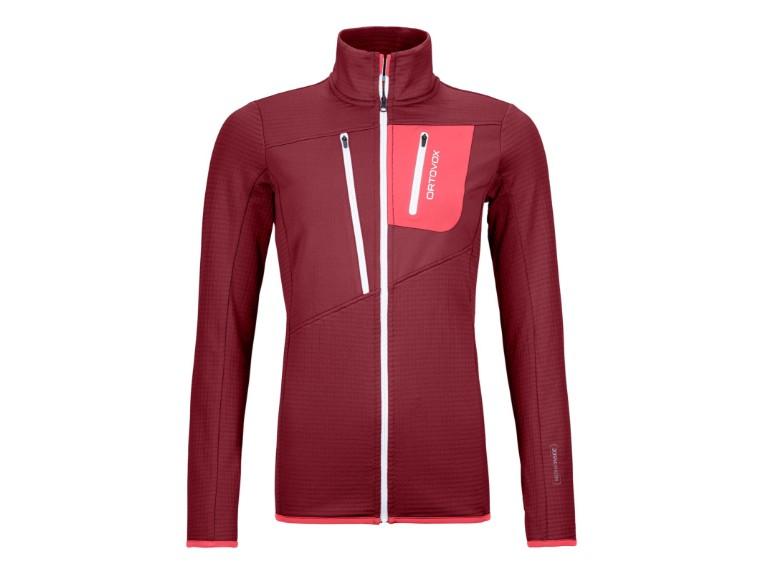 8720200017, Fleece Grid Jacket Women