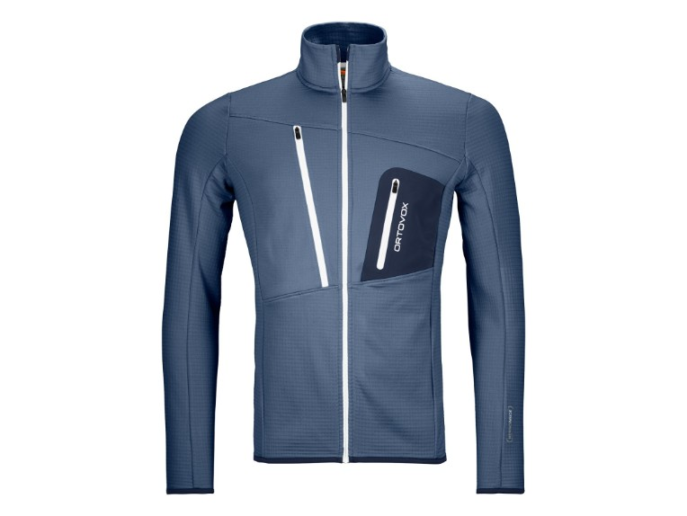 8721200001, Fleece Grid Jacket Men