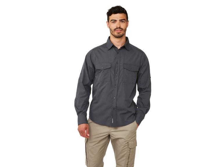 CMS338-3UV-50, Kiwi LS Shirt Men