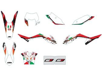 Six Days-Italy-Grafikkit